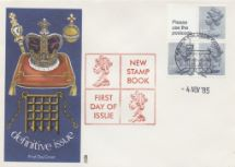 04.11.1985 Vending: New Design: 50p Pillar Box (1p Discount) Coronation Regalia Philart