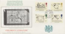 06.09.1988 Edward Lear: Stamps A Book of Nonsense Pres. Philatelic Services, Sotheby Silk No.43