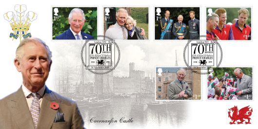 Beautiful covers with the Prince and Caernarfon Castle