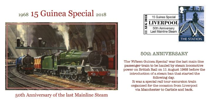 15 Guinea Special, Last Mainline Steam