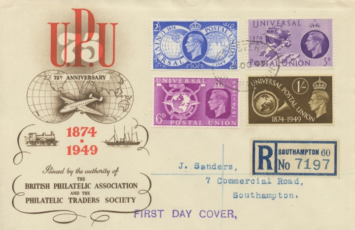 Universal Postal Union, Centenary of the UPU