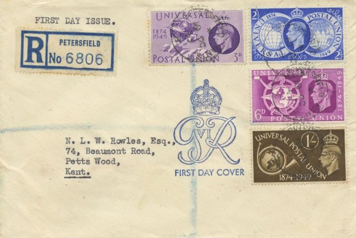 Universal Postal Union, Royal Cypher