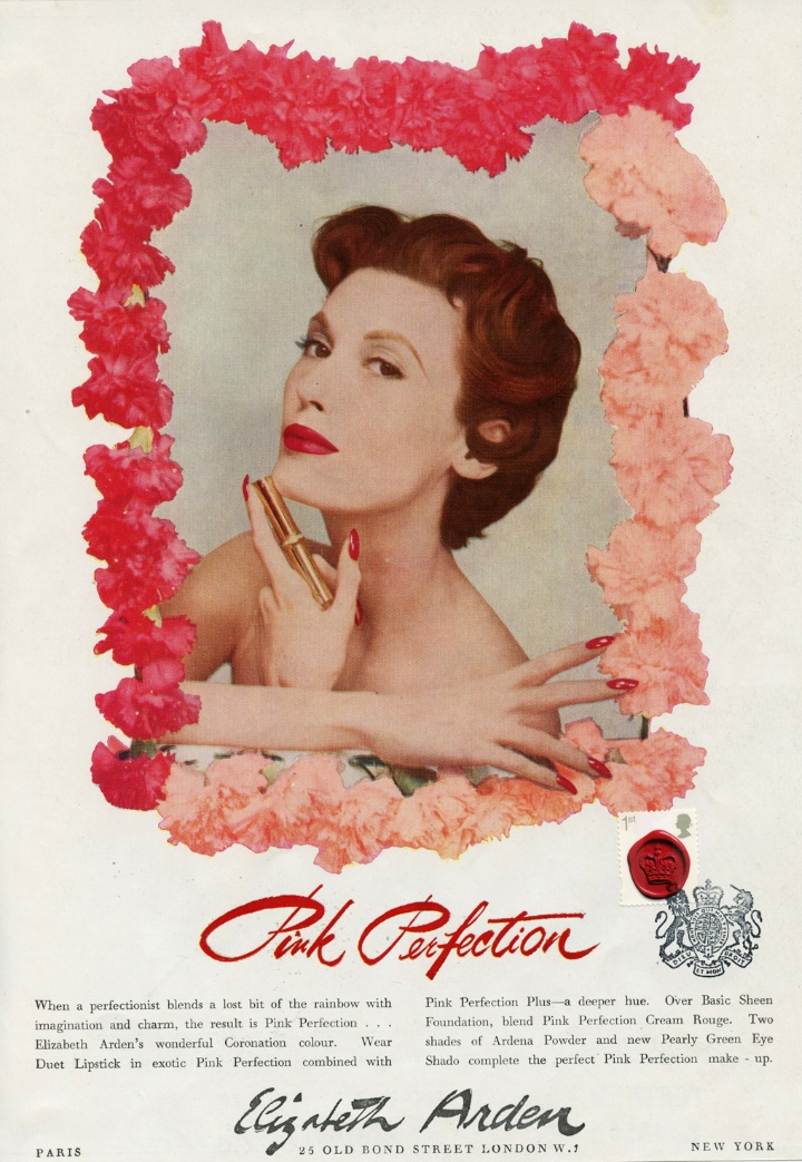 Vintage Adverts, Elizabeth Arden
