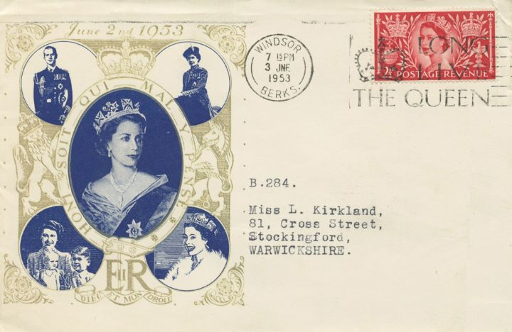 Elizabeth II Coronation, H M The Queen and family