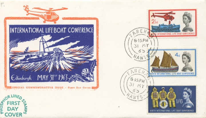 Lifeboat Conference, Helicopter and Lifeboat
