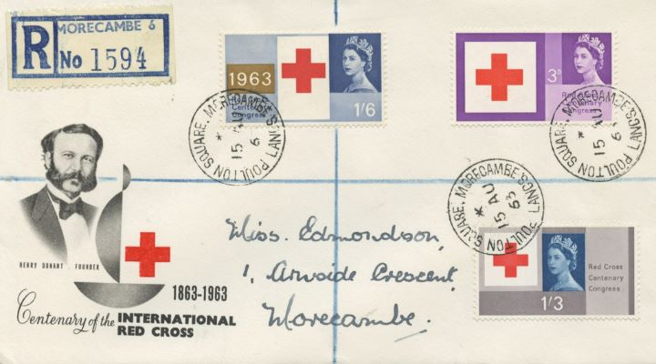 Red Cross Centenary, Henry Dunant