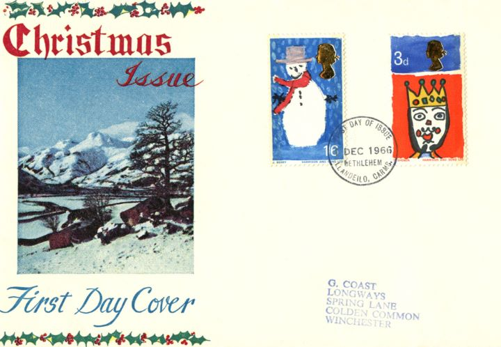 Christmas 1966, Winter scene
