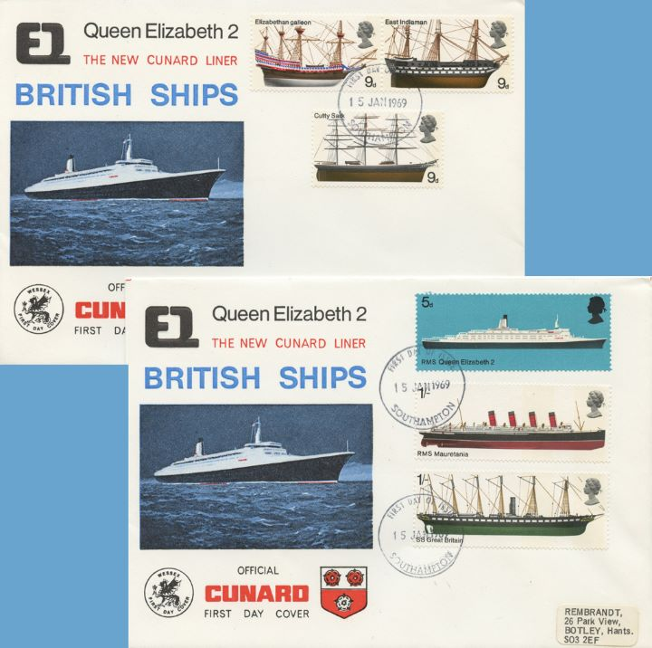 British Ships, Queen Elizabeth 2