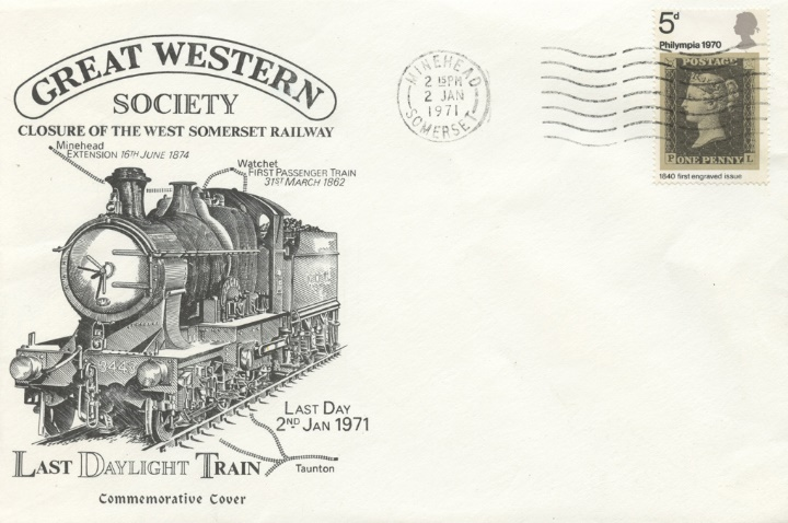 Great Western Society, Closure of the West Somerset Railway