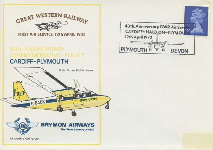 Great Western Railway, First Air Service