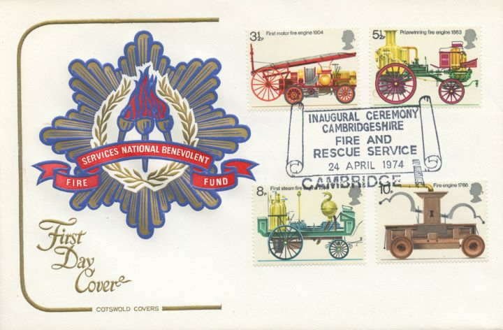 Fire Engines, Fire Services National Benevolent Fund