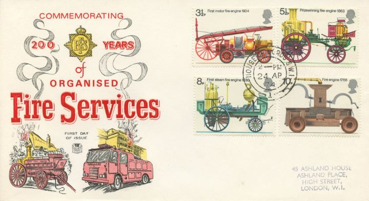 Fire Engines, Old and New Fire Engines