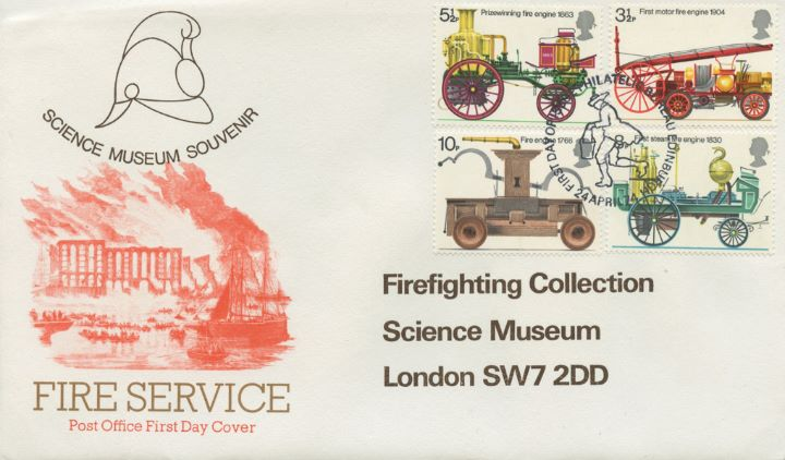 Fire Engines, Science Museum Souvenir