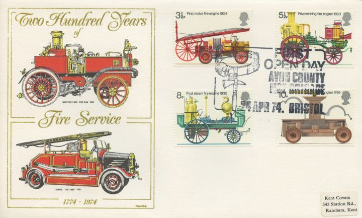 Fire Engines, Merryweather 'Fire King' 1900