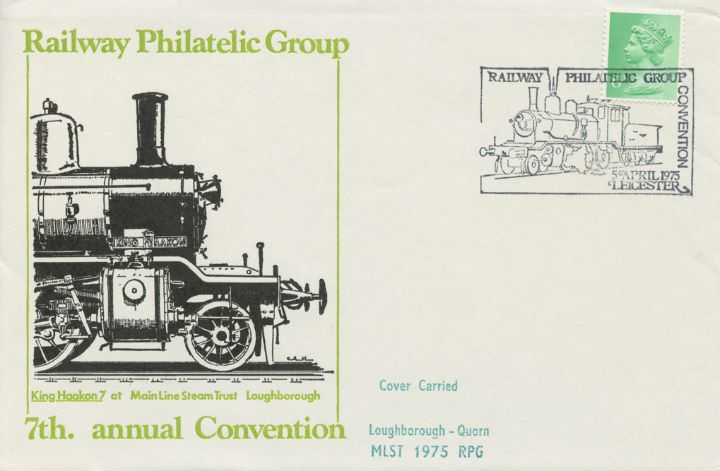 Railway Philatelic Group, King Haakon