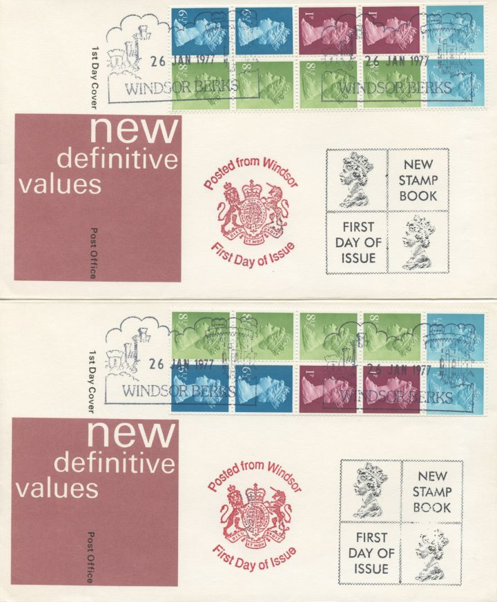 Vending: New Design: 50p, Pair of covers