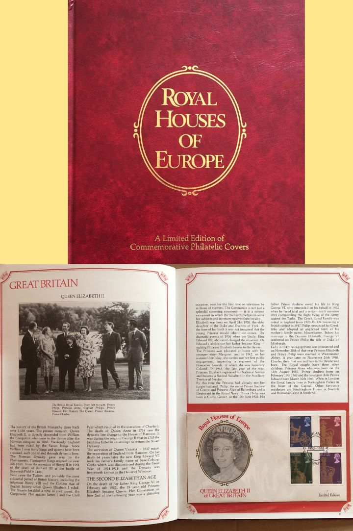 Coronation 25th Anniversary, Royal Houses of Europe
