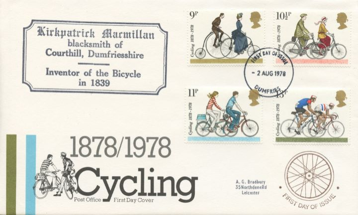 Cycling Centenaries, The Inventor of the Bicycle