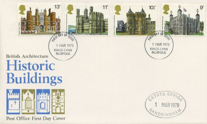 Historic Buildings: Stamps, Estate Office Sandringham