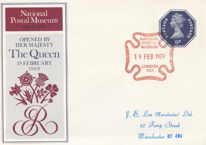 National Postal Museum, Official Opening by HM The Queen