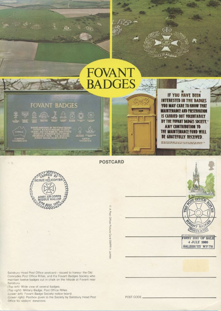 Fovant Badges, The Post Office Rifles