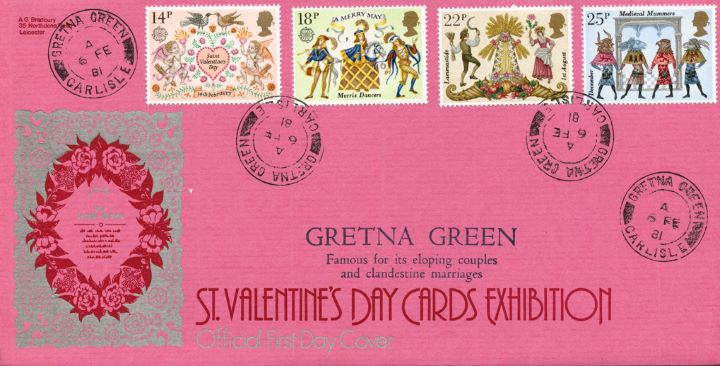 Folklore, St Valentine's Cards Exhibition