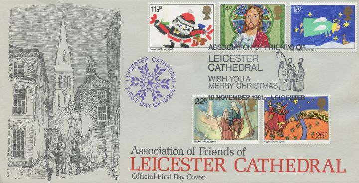 Christmas 1981, Leicester Cathedral