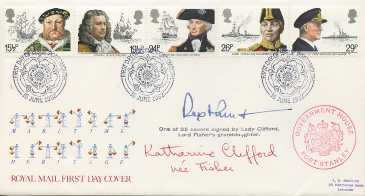 Maritime Heritage, Double Signed Cover