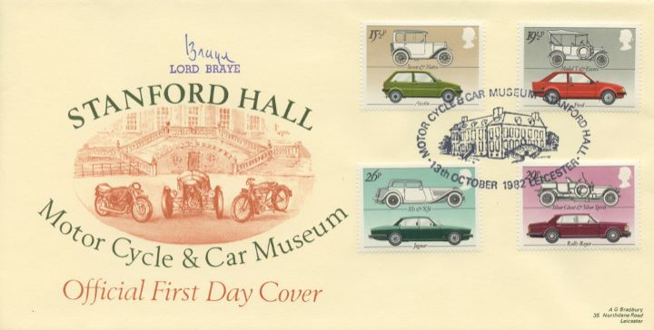 British Motor Cars, Stanford Hall