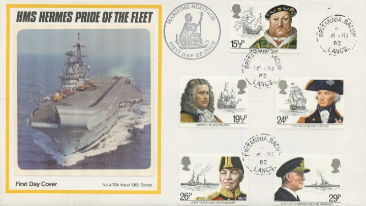 Maritime Heritage, HMS Hermes - Pride of the Fleet