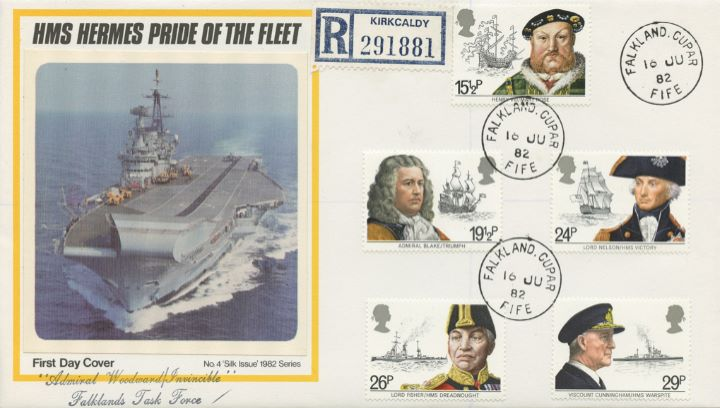 HMS Hermes - Pride of the Fleet