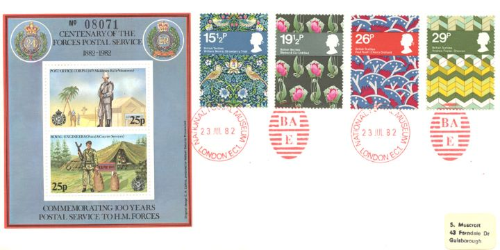 British Textiles, Forces Postal Service Centenary