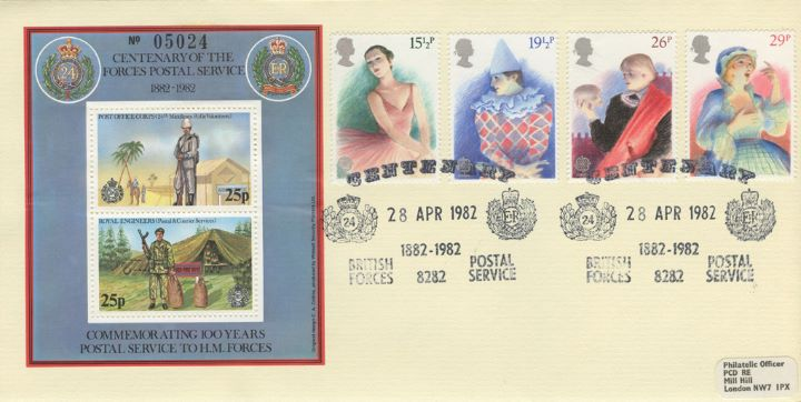 British Theatre, Centenary of Forces Postal Service