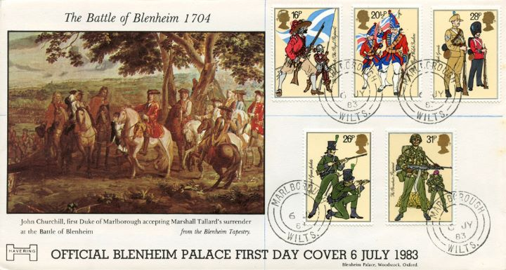 British Army, Battle of Blenheim