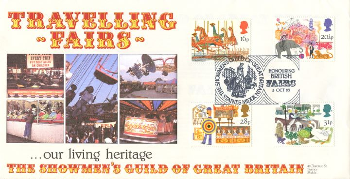 British Fairs, Travelling Fairs
