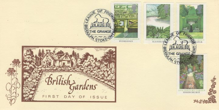 British Gardens, English cottage garden