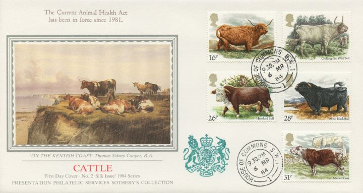 British Cattle, On the Kentish Coast