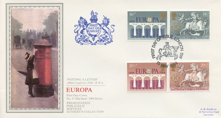 Europa 1984, Posting a Letter
