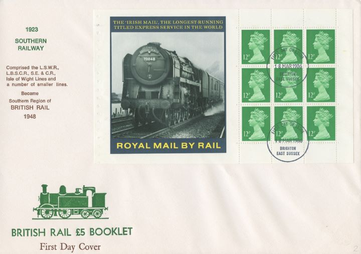 PSB: British Rail - Pane 2, Irish Mail