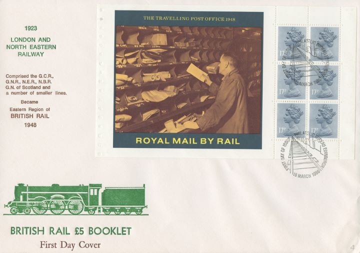 PSB: British Rail - Pane 4, TPO in 1948