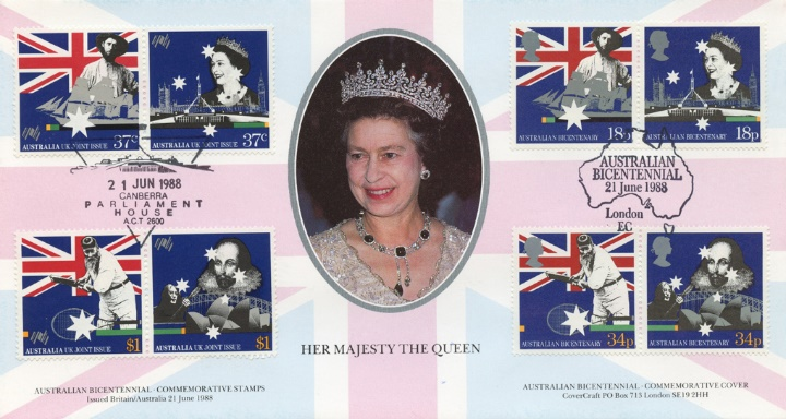 Australian Bicentenary, Her Majesty The Queen