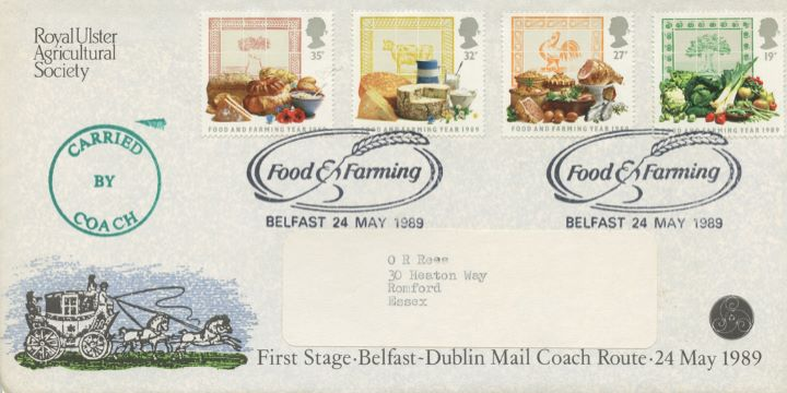 Food & Farming, Belfast to Dublin Coach Run