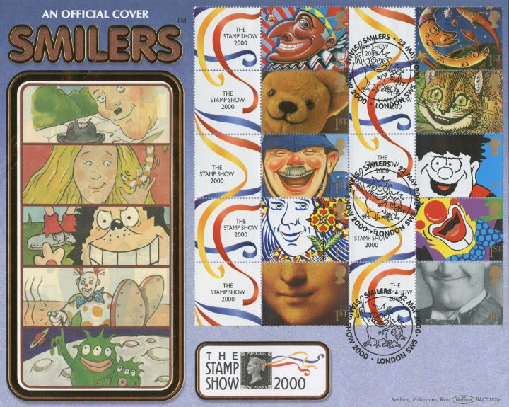 Smilers: Generic Sheet, Children's cartoon characters