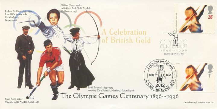 London 2012: Miniature Sheet, Archery, Hockey, Foil and Free Rifle