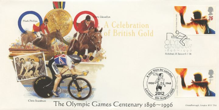 London 2012: Miniature Sheet, Cycling, Equestrian