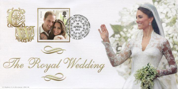 Wedding Day Cover No.3, The Royal Bride