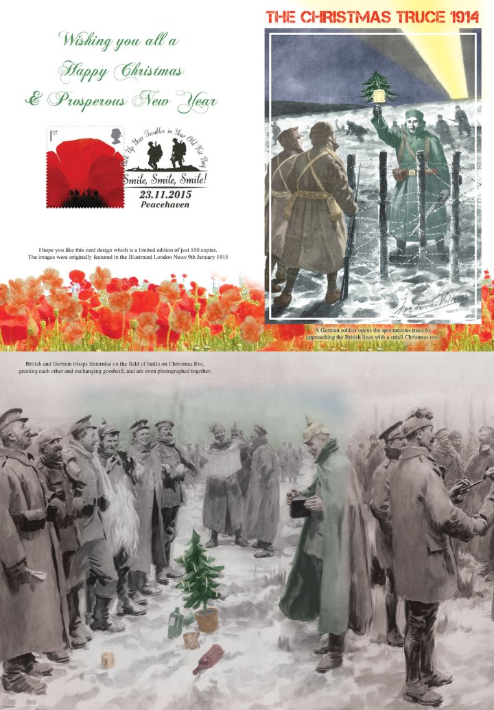 Christmas Truce, Greetings Card