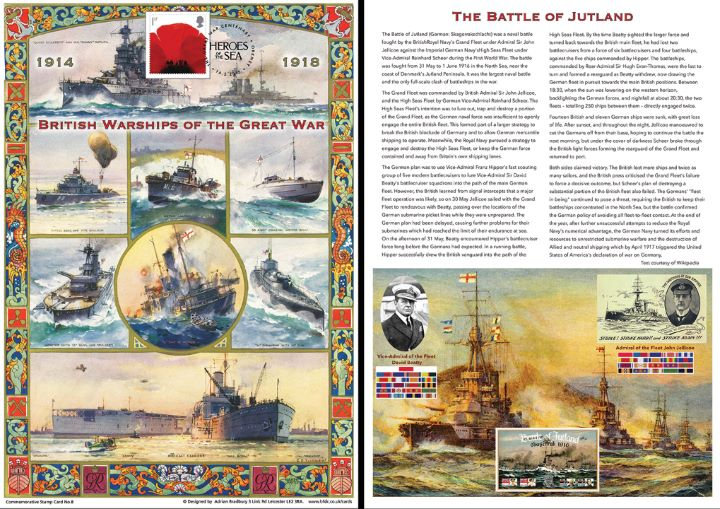 The Great War, British Warships of the Great War