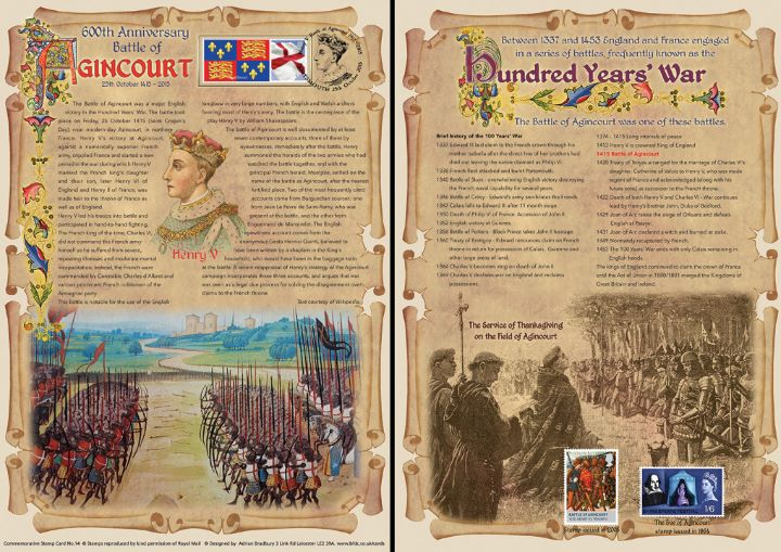 Battle of Agincourt, 600th Anniversary