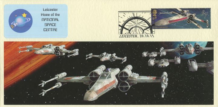 Star Wars: Miniature Sheet, Home of the National Space Centre